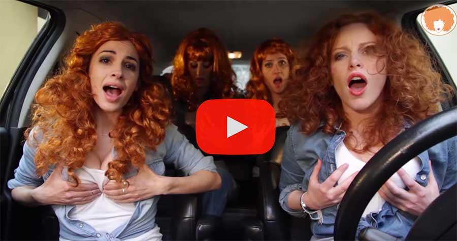 4 françaises copient les australiennes pour faire elles aussi des parodies dans leur voiture