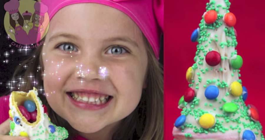 A 8 ans, elle gagne 120 000$ par mois avec ses vidéos de cuisine sur Youtube !