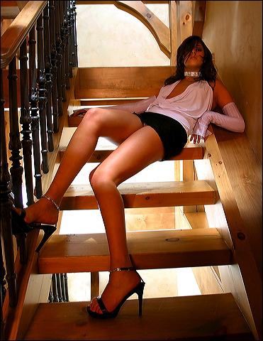 bikini stairs photo