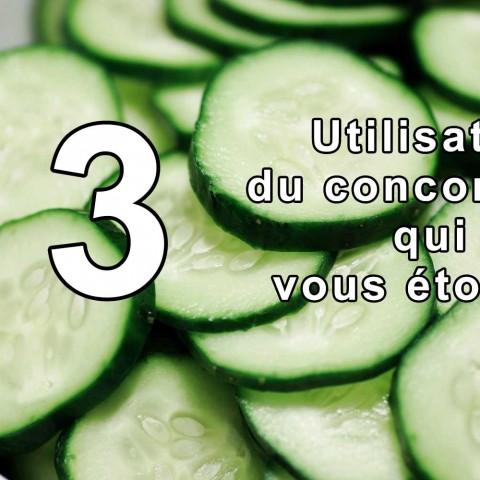13 utilisations du concombre qui vont vous étonner !