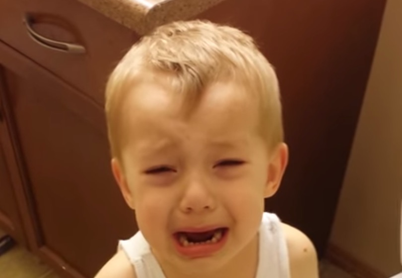 Il jette son poisson rouge dans les toilettes, vous allez avoir la larme à l'oeil