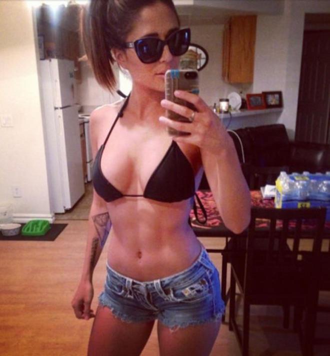 short et bikini