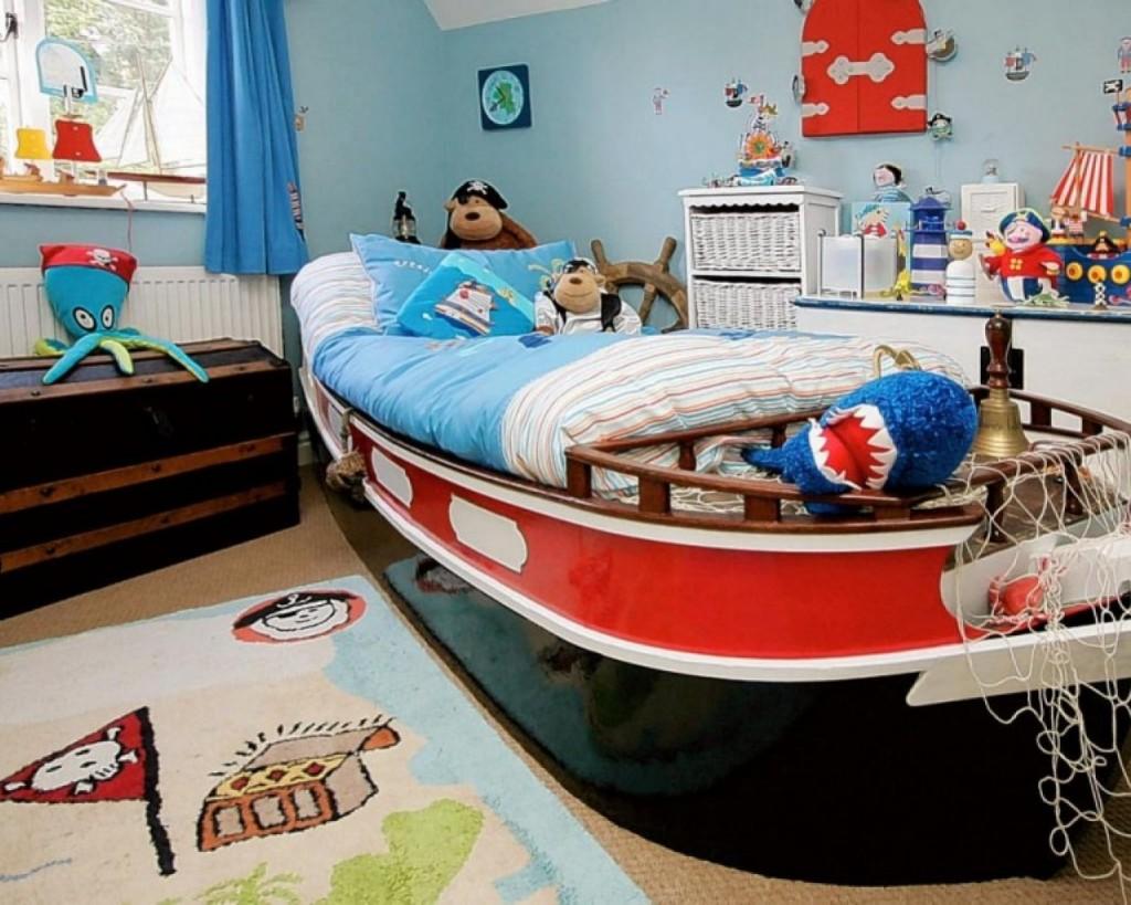 lit pour un futur marin