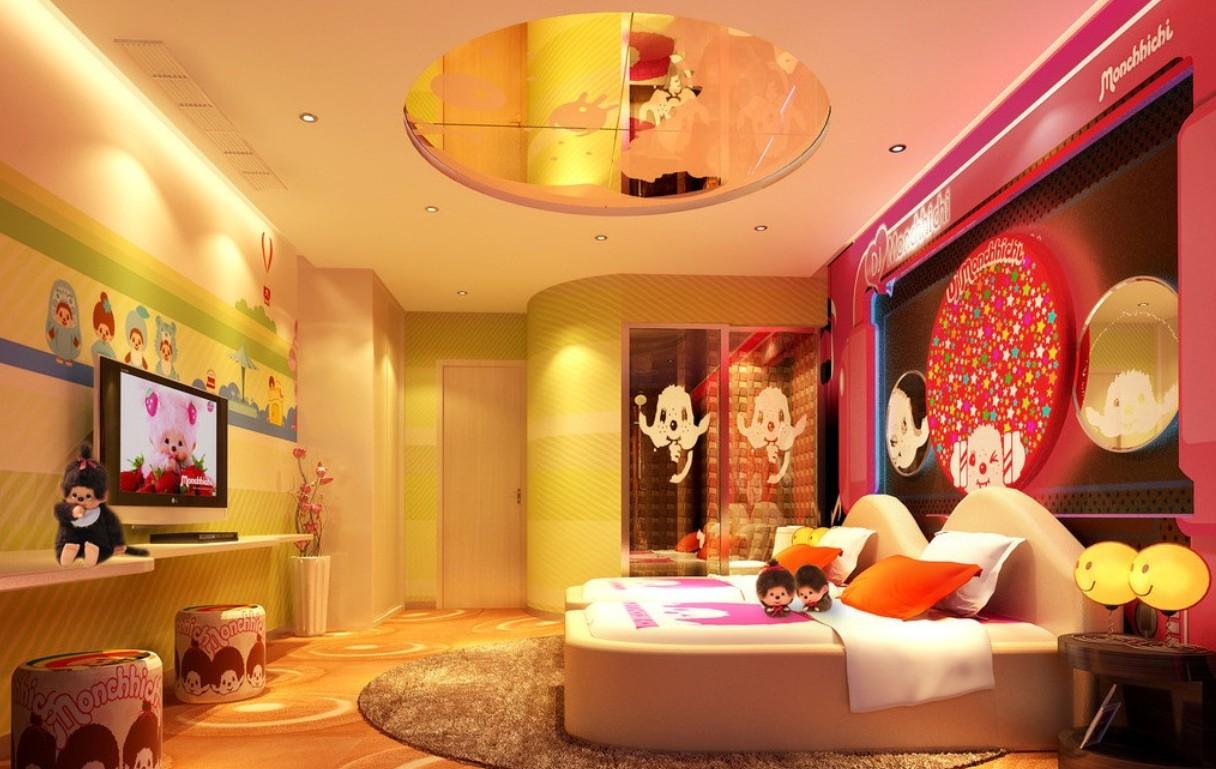 la chambre spéciale Monchichi