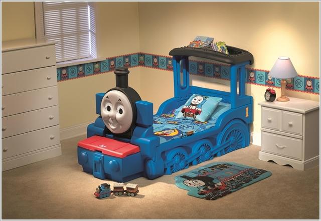 le lit Shawn le train