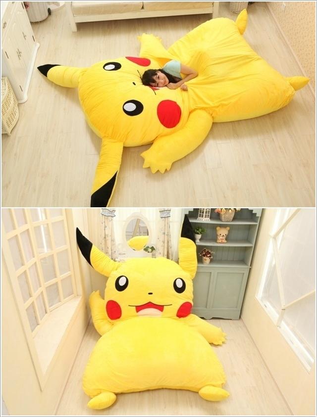 le lit Picatchu pour les fans de Pokémon