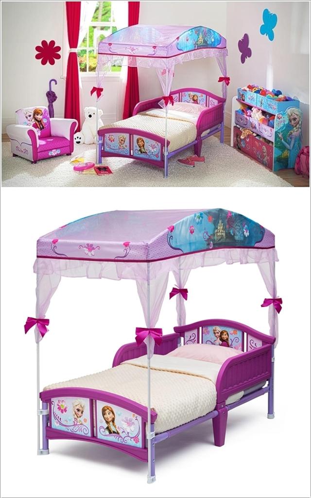 le lit Frozen pour chanter lit-bérée, délivrée