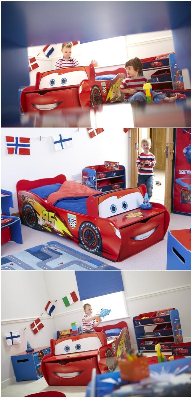 Le lit Cars pour les fanas de Flash McQueen
