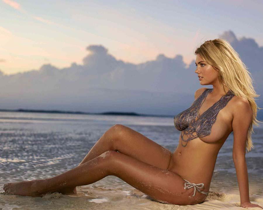 61 - Kate Upton Beach