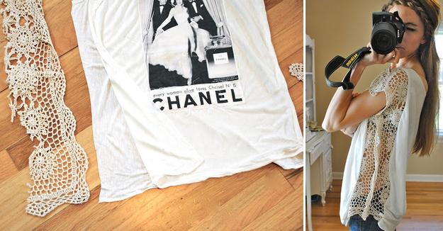 DIY : 31 tee shirts customisés parfaits pour l'été !