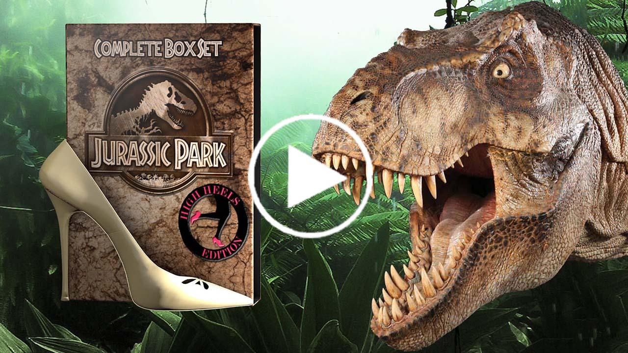 Jurassic Park en version talons hauts !