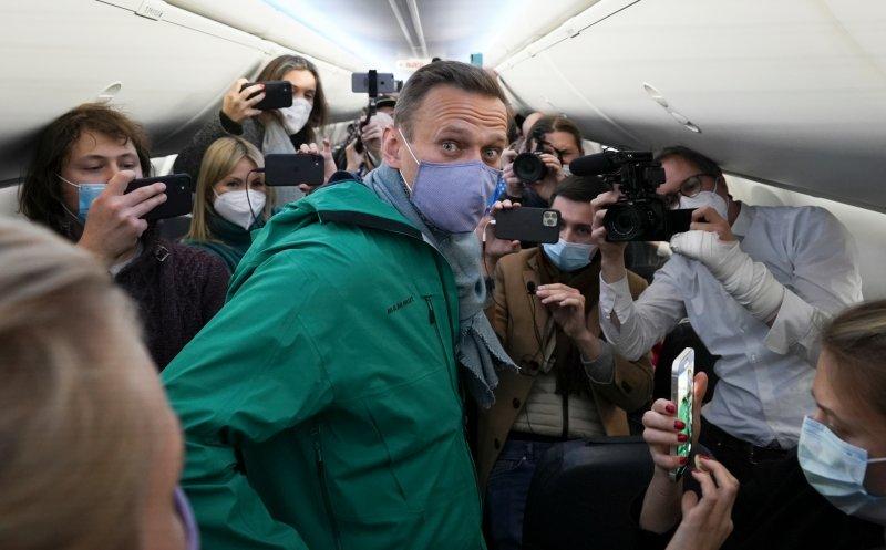 Alexei Navalny arrêté à Moscou
